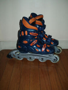 Gently Used Youth Rollerblade size Adj 1-4 , 4.5 , 5, 6 - Cheap