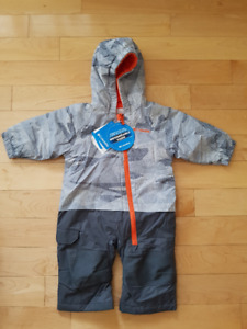 Columbia Infant Snowsuit 6-12M Brand New Never Worn!