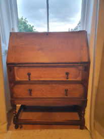Antique bureau - £100 ono desk drawers