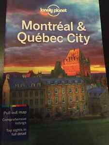 Montreal and Quebec City Lonely Planet guide