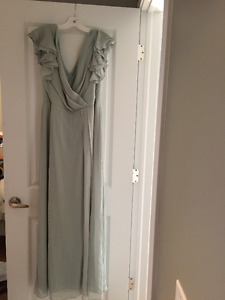 Never Worn Dessy Vivian Diamond Collection Full length Dress