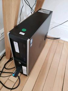 Ordinateur de bureau HP Ompaq Elite 8300 (i5, 8Gb, 320Gb)