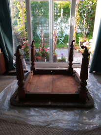 Victorian dining table, spares or repair collect from Starcross