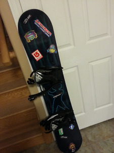 Youth Snow board with bindings