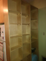 Custom shelving solutions