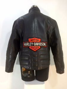 Leather motorcycle jacket, 42 chest.