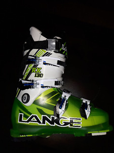 Lange RX 130 High Performance Ski Boots - 27.5 or 9-1/2 Mens