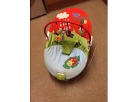 Mama and Papas baby bouncer seat with music and vibrations