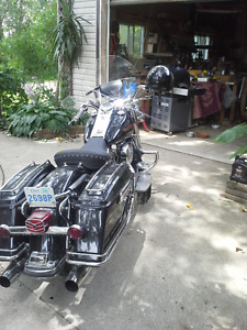 lookin to trade harley roadking for a convertable ragtop