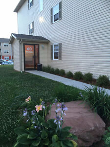 2 BR apartment w/ washer and dryer is available Sept. 1st