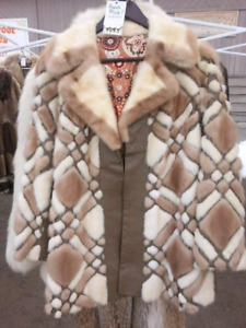 Vintage Real Fur Coats and Jackets!!!