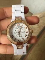 White Guess Women's Watch (No scratches on face)