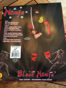 Costumes Halloween Ninja enfant