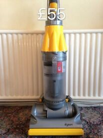 DYSON DC07 FULLY SERVICED MINT CONDITION YELLOW MODEL DELIVERY AVAILABLE