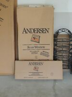 Andersen Roof Window with flashing kit, still in the box.