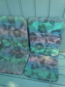 Deck chair cushions (Set of two)