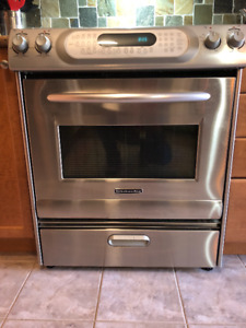 Used Kitchenaid Stove For Sale - offers accepted