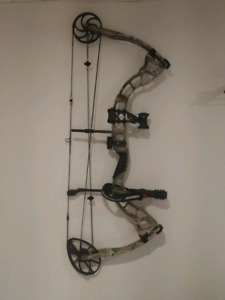 Diamond compound bow with accessories