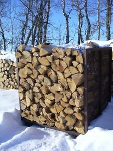 Selling true cords hand stacked (4x4x8ft) of Birch, Pine/Spruce