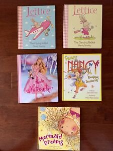 Dr. Seuss, Disney, lettice, fancy Nancy books