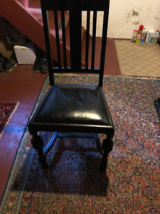 Old English Dining Room Chairs