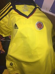 ADIDAS COLOMBIA FALCAO JERSEY REAL SOCCER Kitchener / Waterloo Kitchener Area image 1