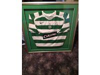 Roy Keane signed Celtic football top