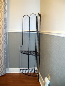 Wrought Iron Corner Stands