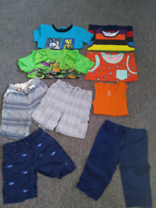 Toddler boys 4T summer clothing LOT $30