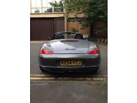2004 Porsche Boxster Convertible in Grey, 2.7 Petrol, Manual, Has Front and Back Clear Lights