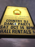 FREE Line Dancing Lessons at Brampton Legion SATURDAYS MONTHLY