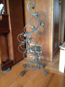 Wine Rack - Wrought Iron
