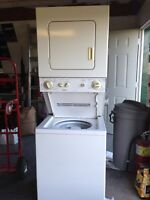 Kenmore stackable washer/ dryer