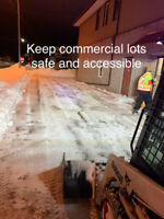 Commercial Snow Removal - 24/7 Service , Haul Away, De-icing