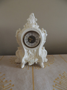 Vintage Porcelain West Germany Wind up Clock