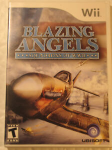 Wii  Blazing Angels: Squadrons of WWII  (Nintendo Wii 2007)