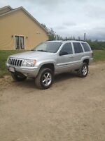 2003 Jeep Cherokee with 4'' lift kit Sky Jacker