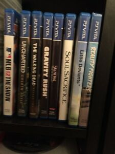 I'm looking for ps vita games