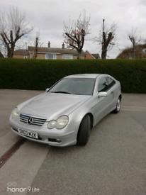 Mercedes c class coupe kompressor