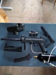 Paintball Marker - Automatic MP5 style - reduced price!