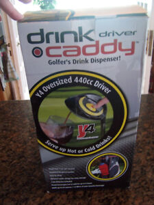 Golfers Drink Caddy Dispenser (Hot or Cold) Brand New
