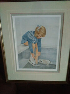 John Newby autographed and framed prints London Ontario image 3