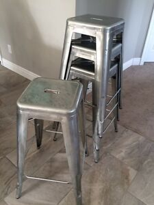 Steel industrial stools Cambridge Kitchener Area image 1