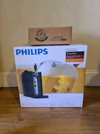Philips Perfect Draft Beer Dispenser + 2 Glasses