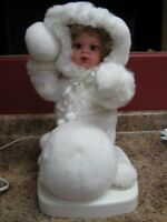 Santa's Best Holiday Animation snow girl