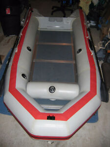 Nissan inflatable boat (12ft) with 18 HP Nissan motor