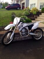 2007 yz250f in mint mint condition