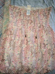 Nice yellow peach summer top size 3 x pick up only
