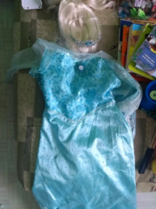 Costume reine des neiges halloween