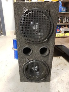 Subwoofer and Amplifier Combo with box